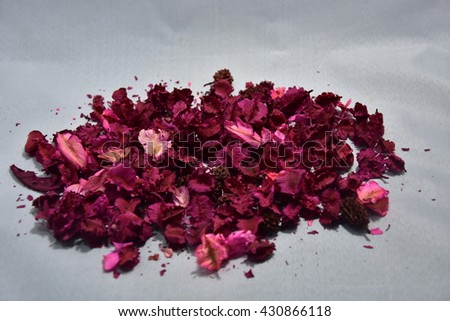 dry flowers with sweet color