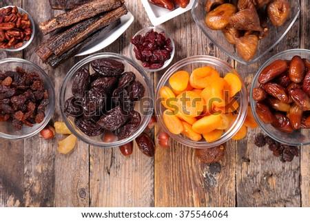 dry fruit - stock photo