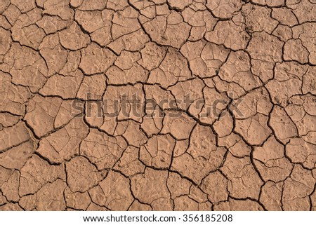 Cracked clay ground into dry season stock photo 69489166 dry red cracked mud useful as a background or texture sciox Images