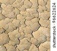 Dry soil texture - stock photo