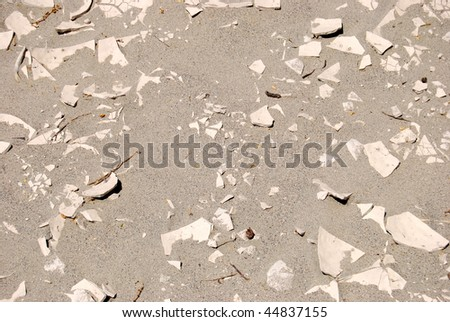 Dry soil Texture - death valley - stock photo