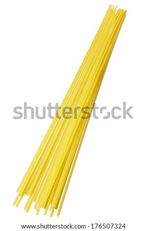 Dry Spaghetti - stock photo