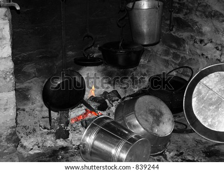 Drying pots and pans