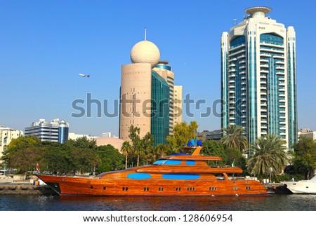 Dubai cityscape. UAE - stock photo