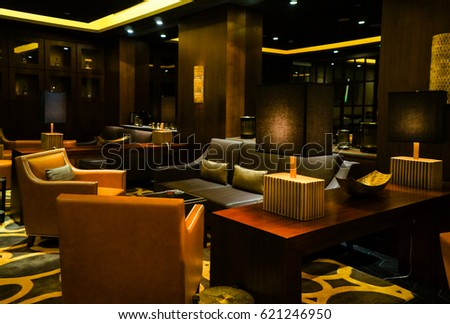 in the summer of 2016 marble modern interior in dark colours at