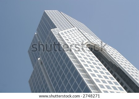 Dubai Skyscraper - stock photo