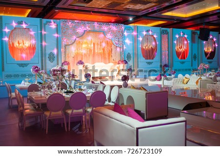 Dubai uae august 1 wedding flowers decoration stock photo royalty dubai uae august 1ding flowers decoration in intercontinental dubai festival junglespirit Gallery