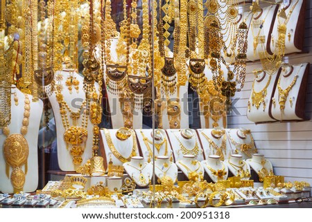 Dubai Gold Souk Stock Royalty Free & Vectors