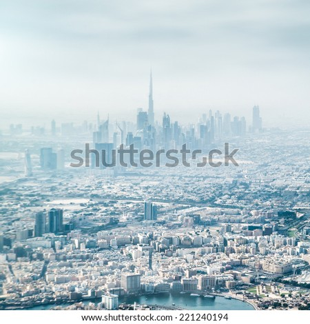 Dubai, United Arab Emirates.  - stock photo