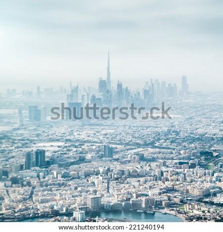 Dubai, United Arab Emirates.  - stock photo
