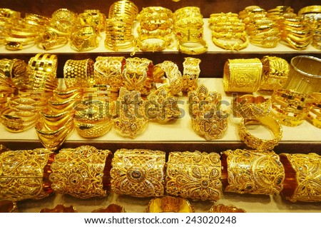 Gold Jewellery Stock Royalty Free & Vectors