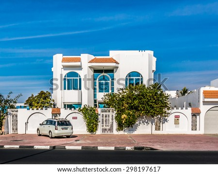 Arabic house stock images royalty free images vectors for Modern house uae