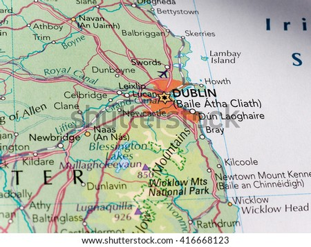 dublin map stock images royalty free images vectors shutterstock