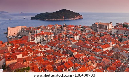 Dubrovnik - stock photo