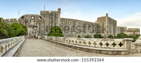 Dubrovnik  - old town. Croatia. South Dalmatia  - stock photo