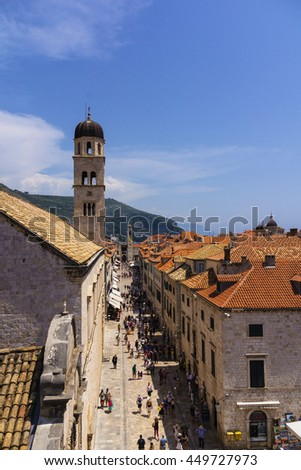 Dubrovnik - the pearl of the Adriatic coast