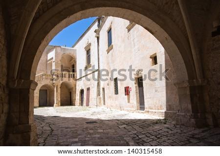 Ducal castle. Ceglie Messapica. Puglia. Italy. - stock photo