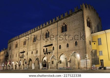Ducale palace, Mantova, Lombardy, Italy - stock photo