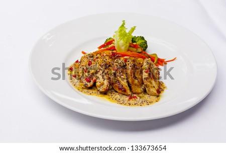Duck Roast - stock photo