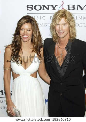 Duff Mckagan at Clive Davis Pre-Grammy Party, Beverly Hilton Hotel, Los Angeles, CA, February 09, 2008 - stock photo