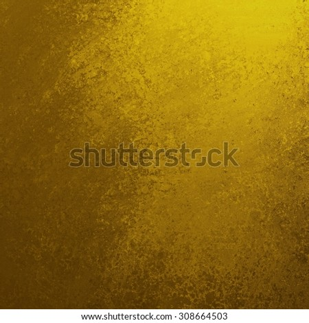 dull gold background with shiny corner lighting and vintage grunge background texture