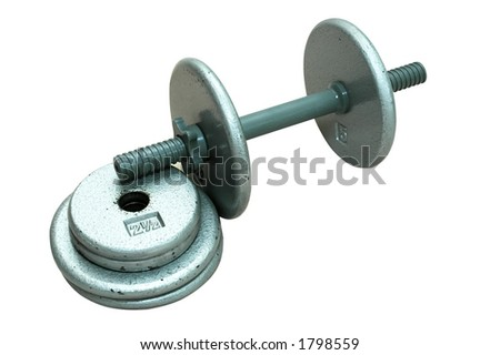 Dumbbell with Extra Plates