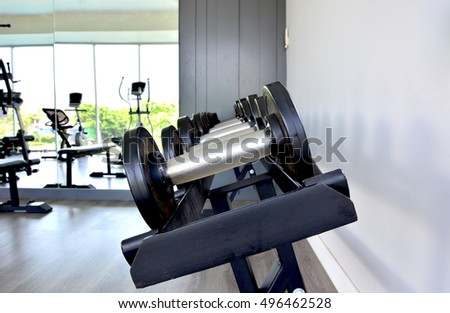 dumbbells in fitness