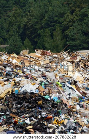 Dump     - stock photo