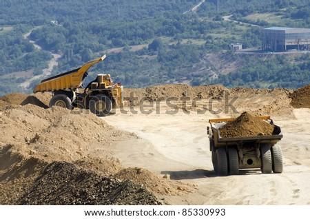 Dumper - stock photo