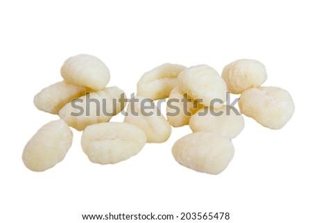 Dumplings and potatoes  - stock photo