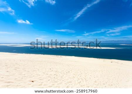 Dune of Pyla - stock photo