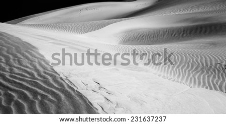 Dune shapes, Sossusvlei, Namib-Naukluft National Park, Namibia