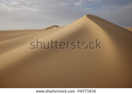 dune top - stock photo
