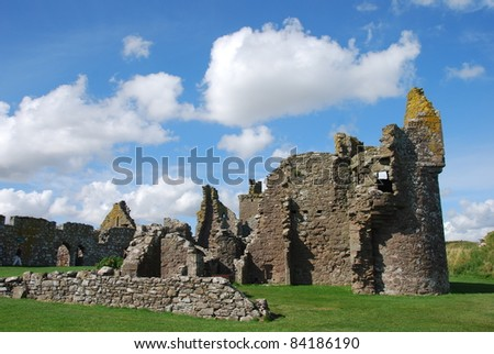 Dunnottar Castle Remains
