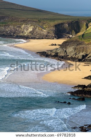 Dunquin bay in Ireland - Co. Kerry - stock photo