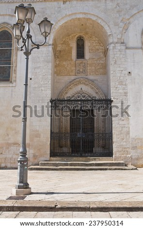 Duomo Cathedral of Altamura. Puglia. Italy. - stock photo