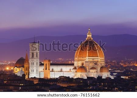 Duomo di Firenze - stock photo