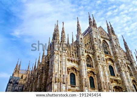 Duomo, Milan Cathedral, Italy - stock photo