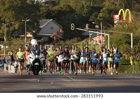 Durban south africa may 31 group stock photo 283151993 shutterstock durban south africa may 31 group of men run through hillcrest negle Choice Image
