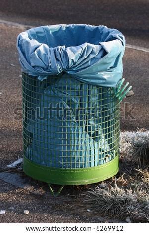 dustbin - stock photo