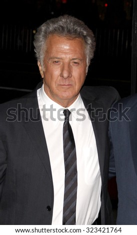"Dustin Hoffman at the Los Angeles premiere of HBO's ""Luck"" held at the Grauman's Chinese Theatre in Hollywood, USA on January 25, 2012."
