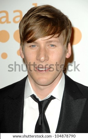 Dustin Lance Black at the 20th Annual GLAAD Media Awards. Nokia Theatre, Los Angeles, CA. 04-18-09