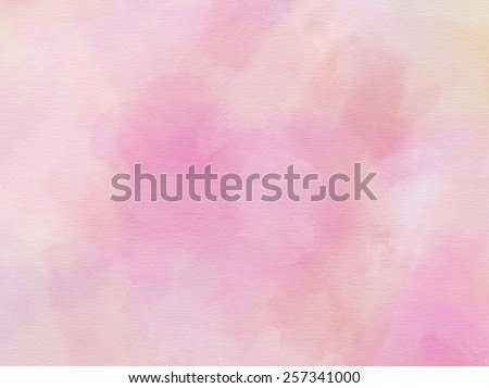 Dusty Purple Gray Muted Watercolor Paper Colorful Texture Background  - stock photo