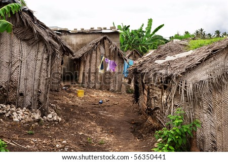 Poverty Africa Stock Images, Royalty-Free Images & Vectors ... Poor African Villages