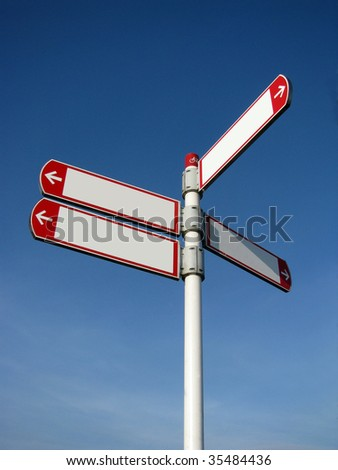Dutch signs - stock photo