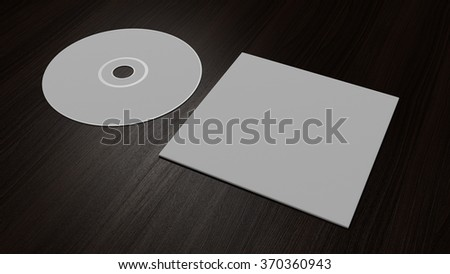 DVD CD Corporate  Mock up