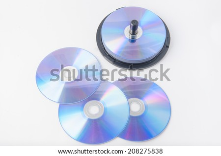 DVD disc - stock photo