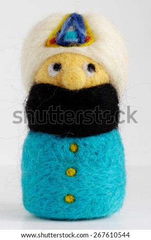 dwarf felt - stock photo