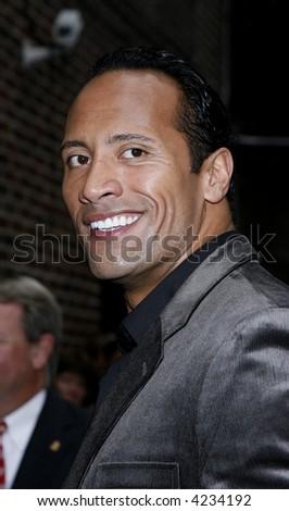 Dwayne  Johnson - stock photo