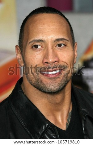 Dwayne Johnson at the Los Angeles Premiere of 'Race To Witch Mountain'. El Capitan Theatre, Hollywood, CA. 03-11-09 - stock photo